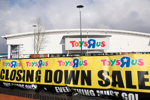 Around 3,000 Toys R Us jobs are at risk in Britain. Photo: PA