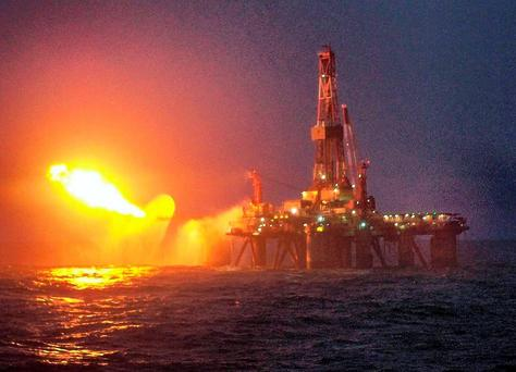 The Corrib Gas Partners last year enjoyed a 40pc increase in estimated revenues to €524.4m. Stock image