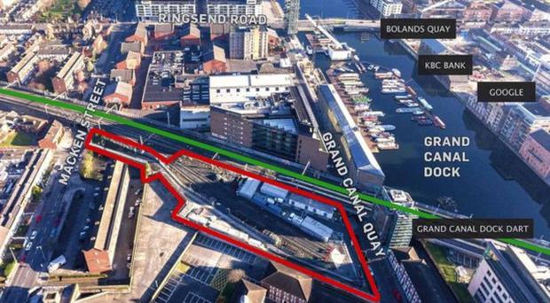 Barrett's Bartra to develop docklands CIE site