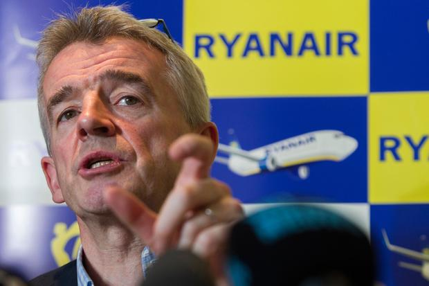 Ryanair chief executive Michael O'Leary Photo: AFP/Getty Images