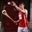 Con O'Callaghan at the official launch of Davy as sponsor of the Cuala Senior Hurling team Photo: Sportsfile