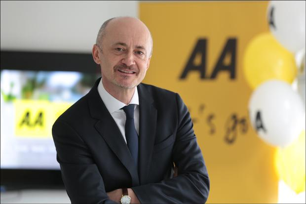 Brendan Nevin of AA Ireland. Photo: David Conachy