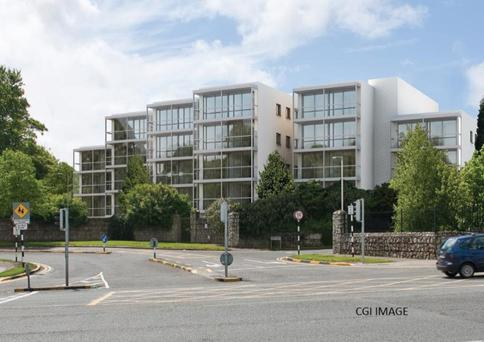 An artist's impression of the proposed Foxrock apartments