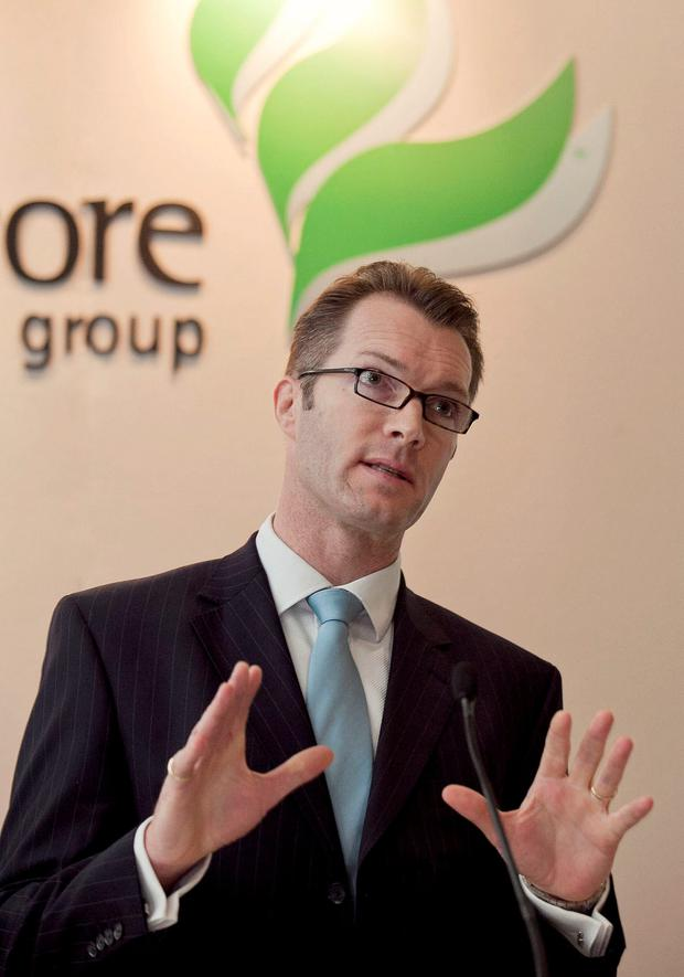Greencore CEO Patrick Coveney will spend about half his time in the United States to oversee remediation of its business there