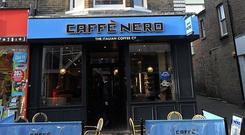Caffe Nero has 10 stores here