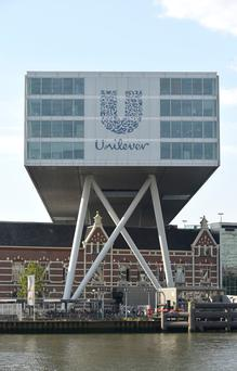 Unilever's Rotterdam headquarters – the Dutch office will now become the multinational's main base of operations