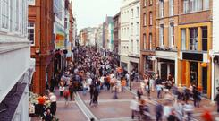 The Irish economy has turned into 2018 with strong momentum. Stock Image