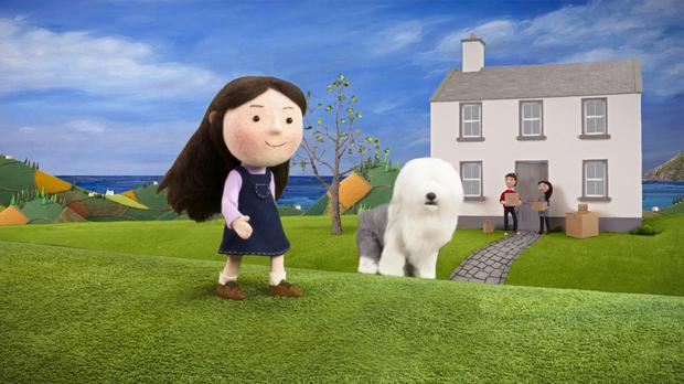 Paper Panther's Dulux Weathershield ad created the Murphy family and their Dulux dog Digby