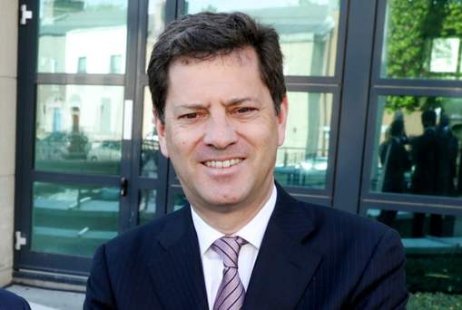 Tony Smurfit, the CEO of Smurfit Kappa, which is in the sights of International Paper