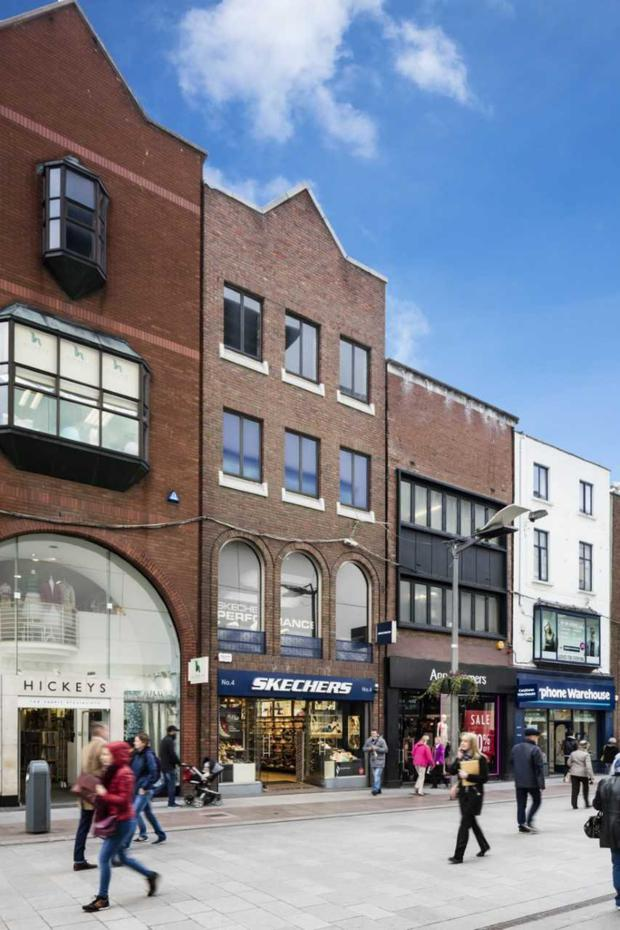 No 4 Henry Street is let to Skechers on a 15-year term from September 2010