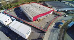 The office facility in Robinhood Industrial Estate