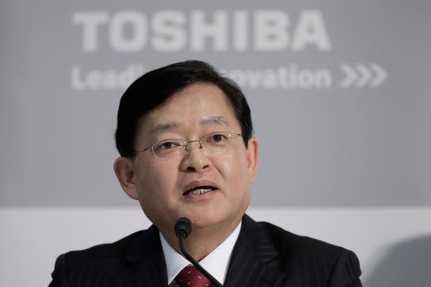 Nobuaki Kurumatani takes over as CEO of tech giant Toshia Corporation today (Bloomberg)