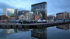 Corporate travellers keen to remain close to tech-heavy docklands of Dublin