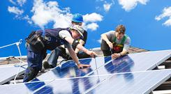Activ8 supplies rooftop solar systems to homes and businesses. Photo: Stock image