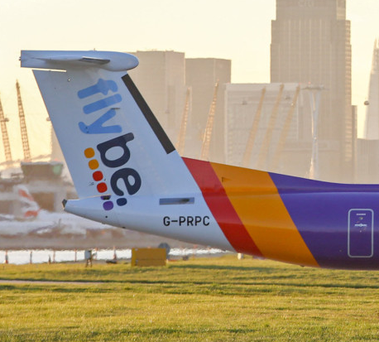 Flybe insisted yesterday that its turnaround was continuing, with a further improvement in load factors as it reduces capacity. Photo: Chris Ratcliffe/Bloomberg