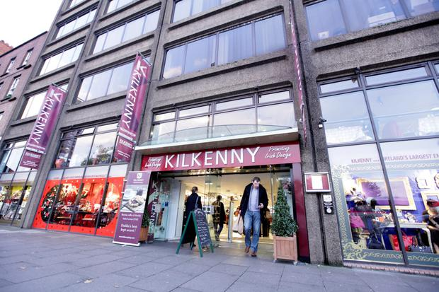 The Kilkenny shop and design centre in Dublin's Nassau Street employes more than 100 staff at peak periods