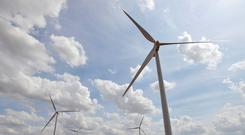 The two wind farms were part of the Bord Gáis Energy portfolio sold by the State three years ago to meet targets set by the Troika. Stock image