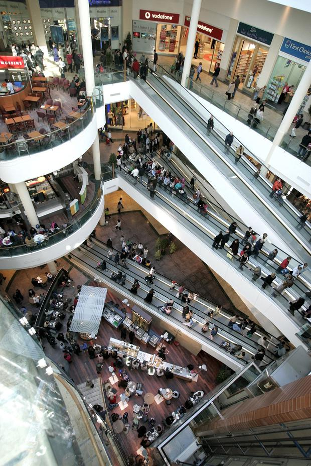 The Dundrum Town Centre in Dublin attracts more than 17 million shoppers a year