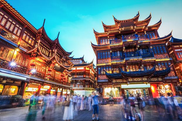 A rise in the number of European travellers taking trips to cities like Shanghai helped the Dublin-based firm offset slowing growth in European markets. Stock image