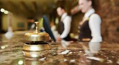 Medium-priced hotels which attract the bulk of business travellers can offer the best savings (stock photo)