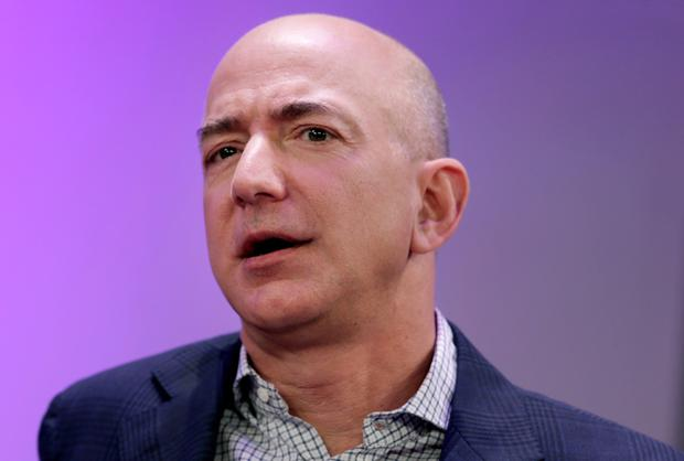 Amazon founder and CEO Jeff Bezos is worth $112bn. Photo: Peter Foley/Bloomberg