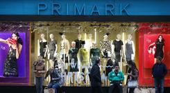 Like-for-like sales at Primark – the trading name for Penneys outside of Ireland – declined by 1.5pc during the period