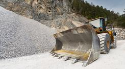 Construction materials supplier Lagan owns nine quarries. Stock image