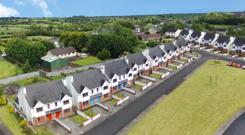The most valuable lot sold at auction by BidX1 comprised 23 unfinished houses at Glen Court, Emly, Co Tipperary