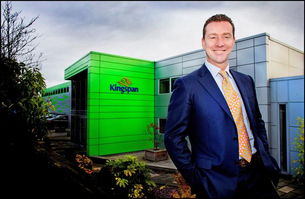 Kingspan chief executive Gene Murtagh