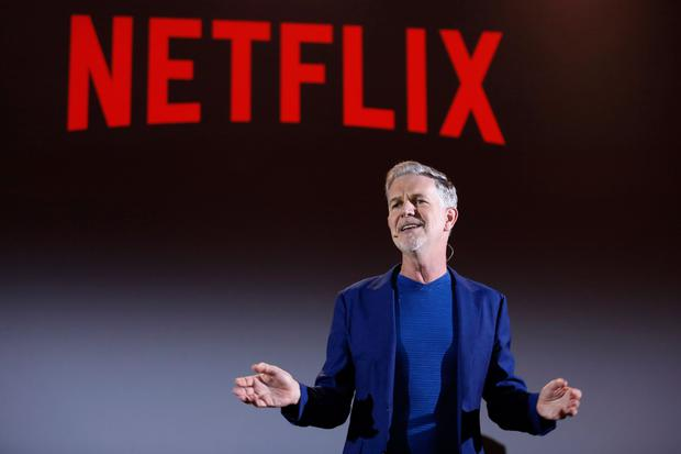 Reed Hastings co-founder and chief executive of Netflix