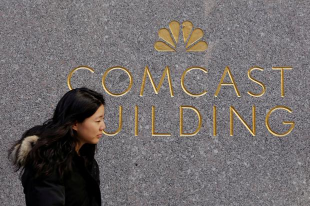 US media group Comcast submitted a £22bn (€25bn) bid for Sky on Wednesday, prompting the European pay TV group to drop its support for a lower offer from Rupert Murdoch's Twenty-First Century Fox (21CF). Photo: Reuters