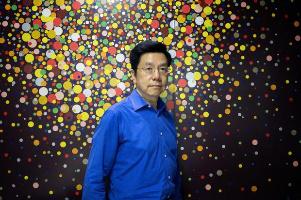 Kai-Fu Lee, founder of Sinovation Ventures has almost $2bn to spend on AI startups. Photo: Giulia Marchi/Bloomberg