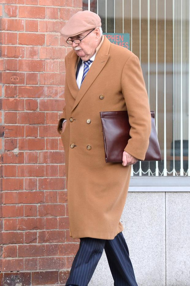 Ex-INBS boss Michael Fingleton suffered a previous bout of ill health which halted proceedings