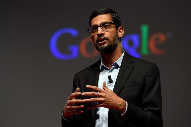 Google CEO Sundar Pichai – publishers have objected to the company's stance on GDPR