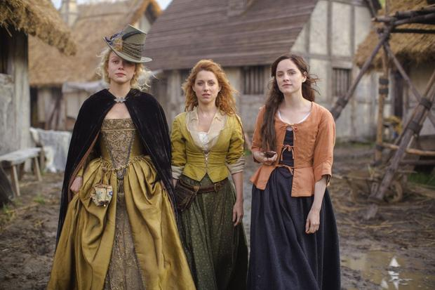 Naomi Battrick, Sophie Rundle and Niamh Walsh in Jamestown, one of the series screened on Sky – Rupert Murdoch's Twenty-First Century Fox has launched a bid for the TV group
