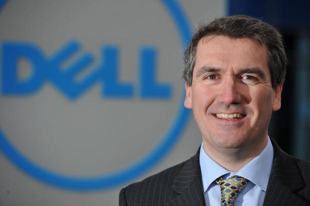 Dell EMC's EMEA president Aongus Hegarty. Photo: Damien Eagers