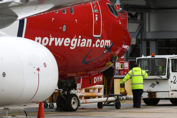 IAG, which also owns Iberia, Aer Lingus and Vueling, invested in Norwegian in April, picking up a 4.6pc stake in the struggling carrier with a view to starting takeover discussions. Photo: Bloomberg