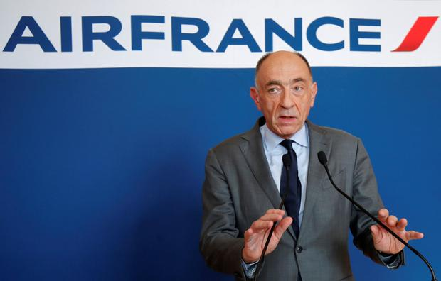 Air France-KLM CEO Jean-Marc Janaillac to quit airline. Photo: Reuters