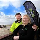 Dave and Nikki Reddy of Celtic Adventures in Clogherhead, Co Louth have diversified their range to offer summer camps and team-building. Photo: David Conachy
