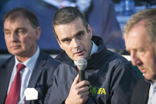 IFA president Joe Healy. Photo: Kyran O'Brien