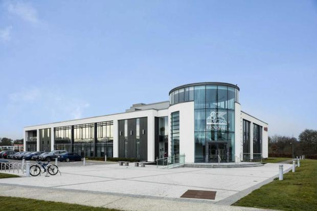 Generali House is fully-let at a rent of €505,714 per annum