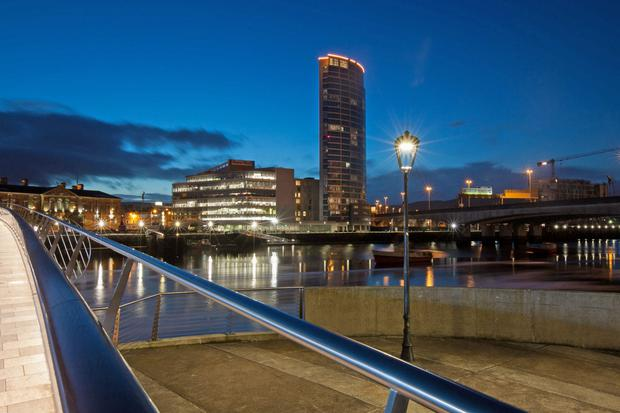 Obel 68 is part of the Obel Tower development on Donegall Quay