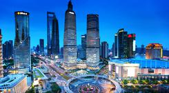 There are opportunities as firms in cities like Shanghai look to expand globally.