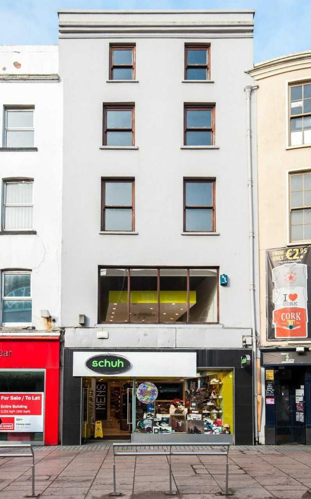 Centrally-located Number 122 St Patrick's Street in Cork City is guiding at €1.65m