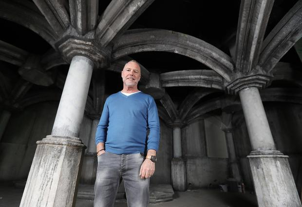 Vaults co-founder Paul Blanchfield is pleased with the Thomas Street location but is hoping council revamp plans go ahead. Photo: Lorraine O'Sullivan