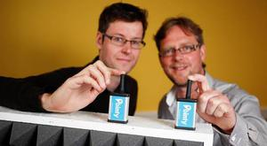 Mark Cummins, CEO and co-founder of Pointy; Charles Bibby, co-founder of Pointy