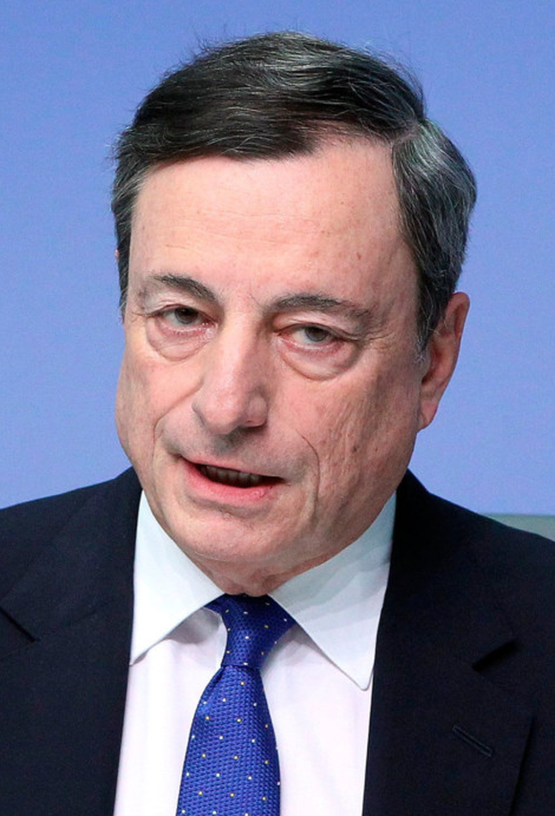 European Central Bank president Mario Draghi is expected to end the ECB's assetpurchase programme this year. Photo: Daniel Roland