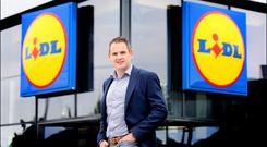 Lidl Ireland managing director JP Scally. Photo: David Conachy
