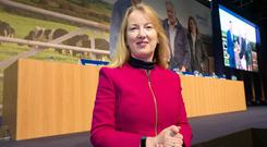 Siobhan Talbot, Glanbia group MD. Photo: INM