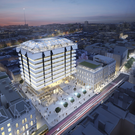 An artist's impression of how the proposed Central Plaza scheme will look
